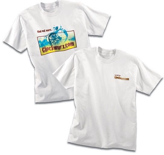 100% Cotton Digital T-Shirt is perfect for any event!  For a short time only $8.50 each!   Reg.  $12 each.