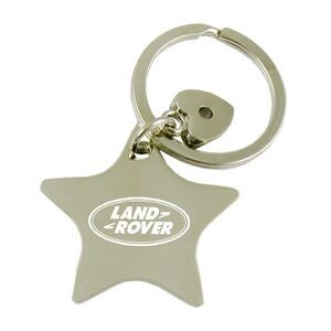 Star Metal Key Tag-Closed out