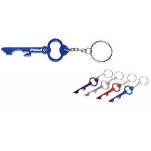 Skeleton Key Look Aluminum Bottle Opener with Keychain (9 Week Production)