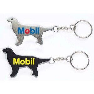 Dog Aluminum Bottle Opener with Keychain (9 Week Production)