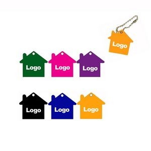 House Shape Pet ID Tags Key Tag